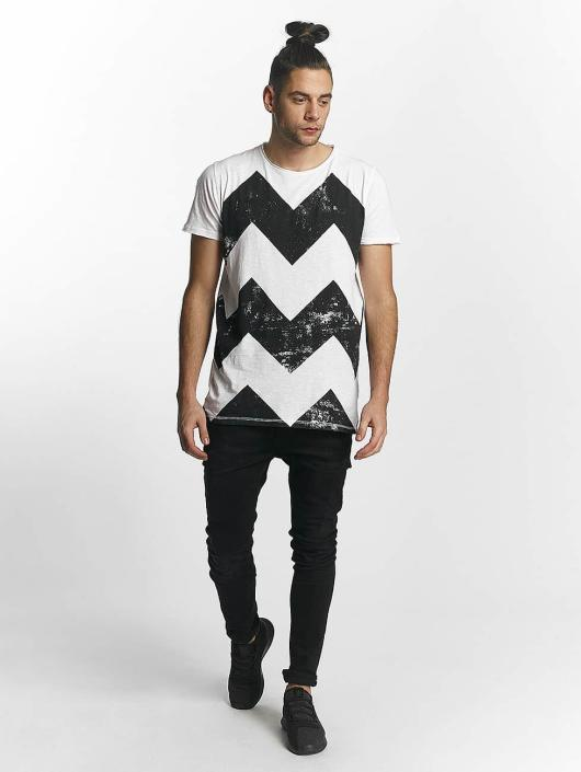 SHINE Original t-shirt Original Zig Zag wit