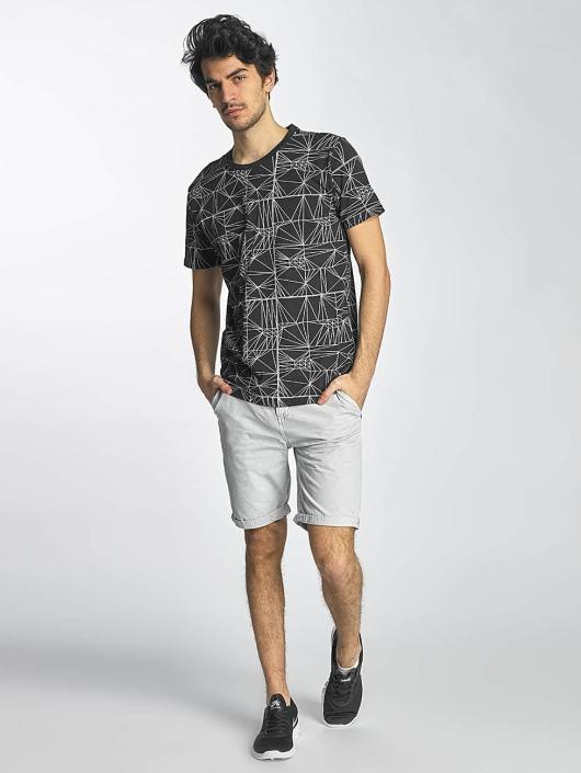 SHINE Original T-Shirty Stripes czarny