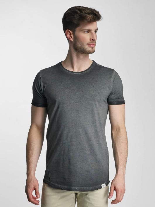 SHINE Original T-Shirty Dirt Dye Wash czarny