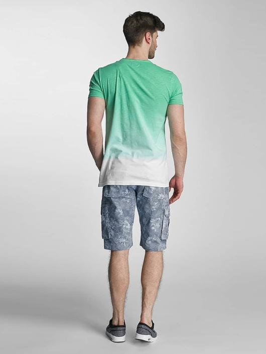 SHINE Original T-Shirty Dip Dyed zielony