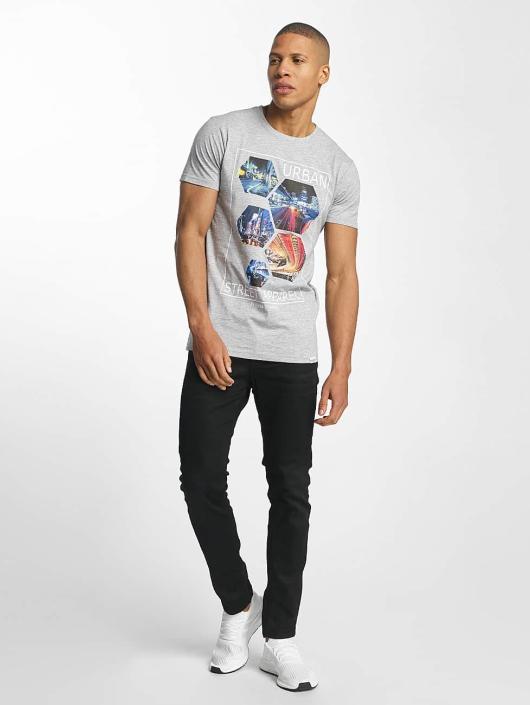 SHINE Original T-skjorter Barret Photo Print grå