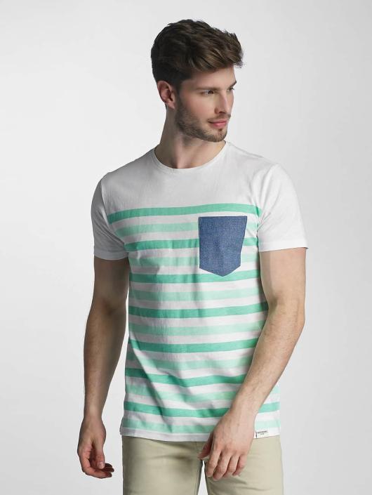 SHINE Original T-skjorter Striped grøn