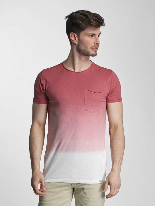 SHINE Original T-skjorter Dip Dyed rosa
