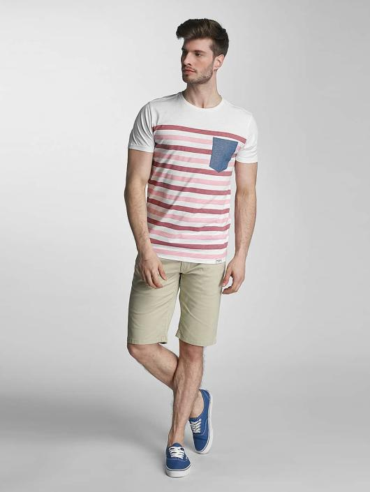SHINE Original T-skjorter Striped rosa