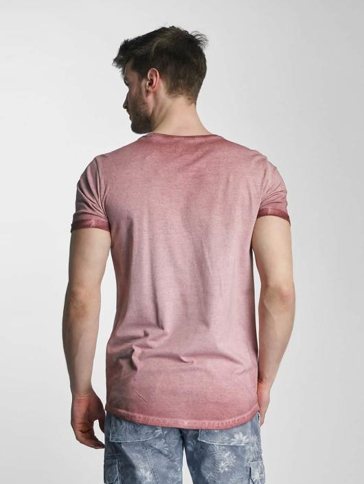 SHINE Original T-skjorter Dirt Dye Wash rosa