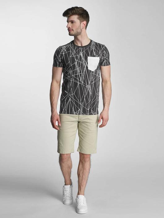 SHINE Original T-skjorter Long Oversize Jarrod svart