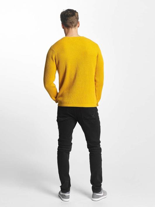 SHINE Original trui O-Neck Knit geel