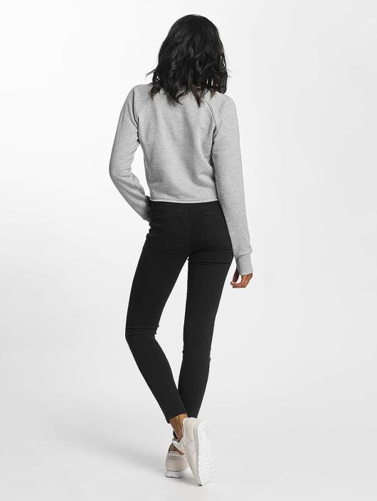 Shisha  Пуловер Cropped серый