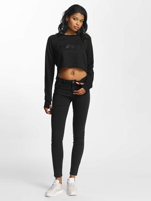 Shisha  Пуловер Cropped черный