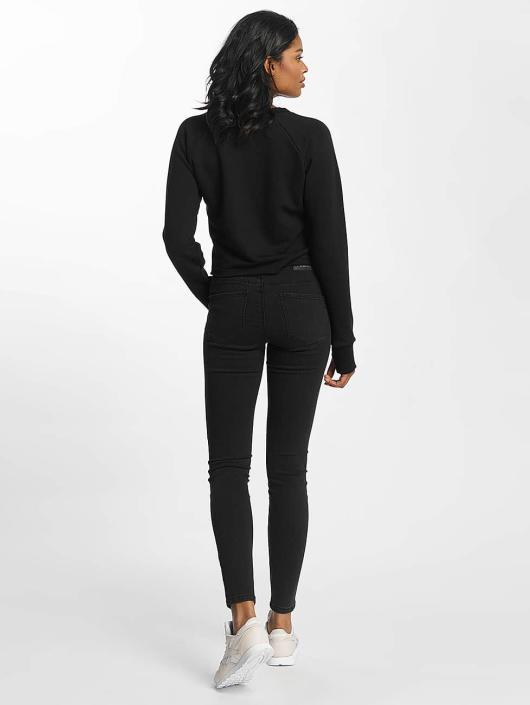 Shisha  Jersey Cropped negro
