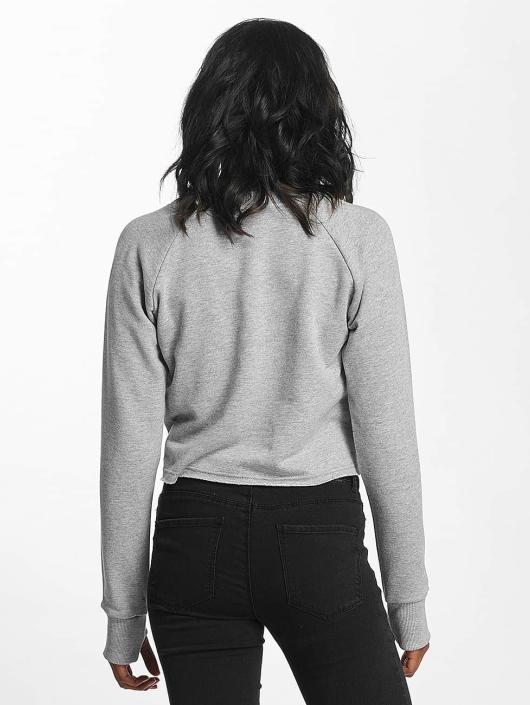 Shisha  Swetry Cropped szary