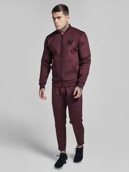 Sik Silk Демисезонная куртка Poly Tricot красный