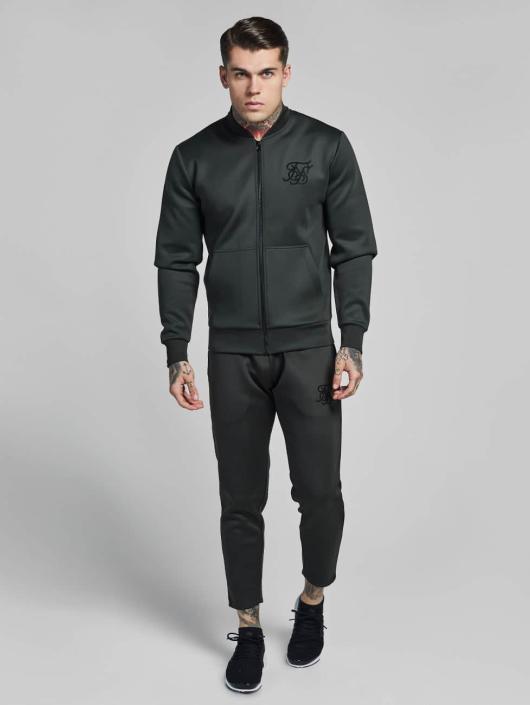 Sik Silk Демисезонная куртка Poly Tricot хаки