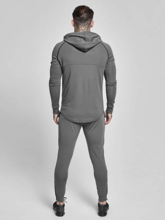 Sik Silk Hoodie Zonal Overhead Track grey