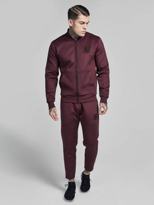 Sik Silk Lightweight Jacket Poly Tricot red