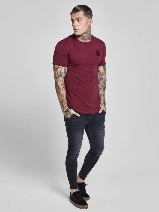 Sik Silk T-paidat Gym punainen