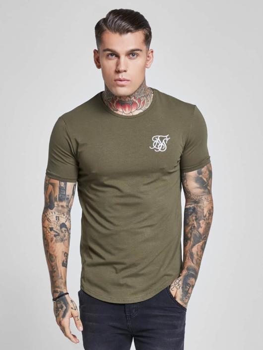 Sik Silk Herren T-Shirt Gym in khaki 434240 9e9934253d