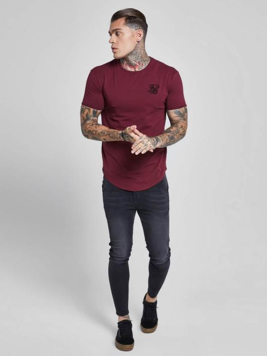 Sik Silk T-Shirty Gym czerwony