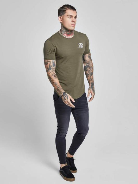 Sik Silk T-Shirty Gym khaki