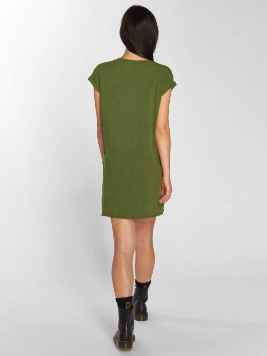 Sixth June Šaty Dress hnědožlutý