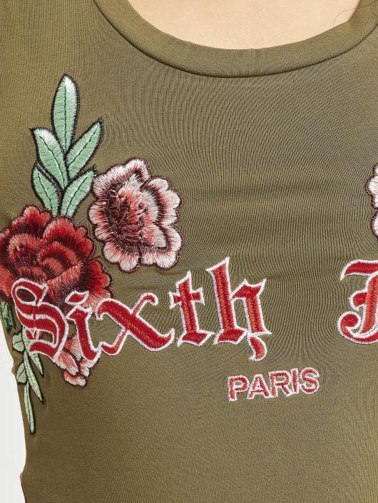 Sixth June Body Roses hnědožlutý