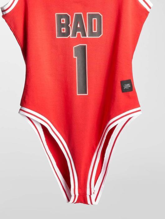 Sixth June Bodystocking Bad rød