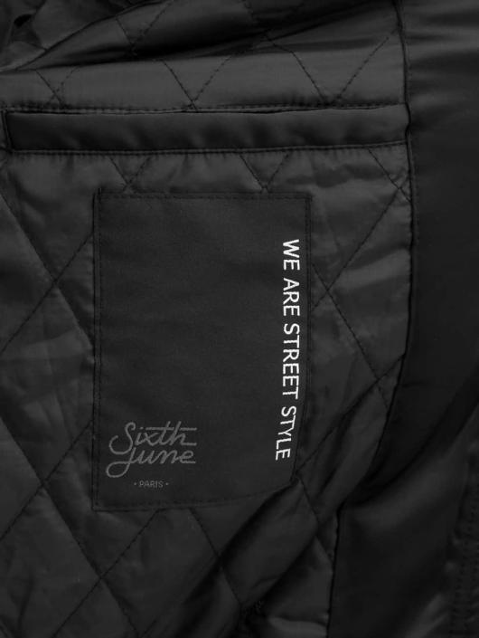 Sixth June Bomber jacket Varsity black