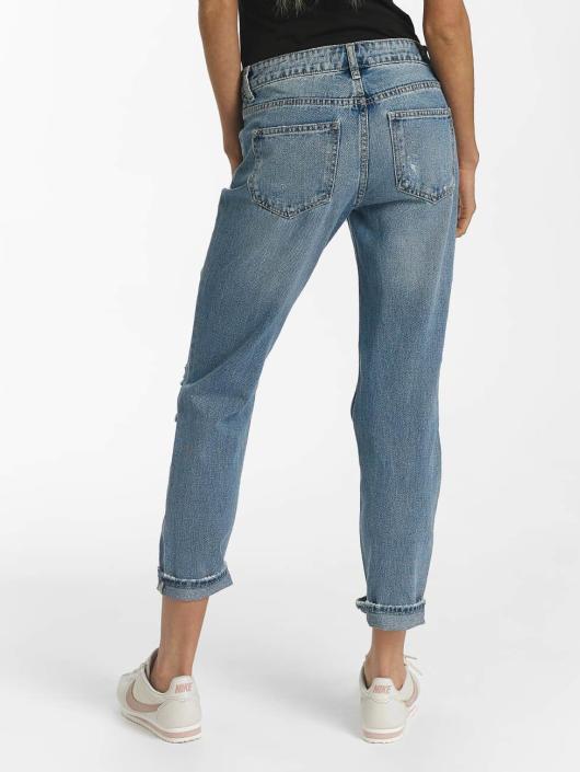 Sixth June Boyfriend Jeans Mummy Destroyed modrý