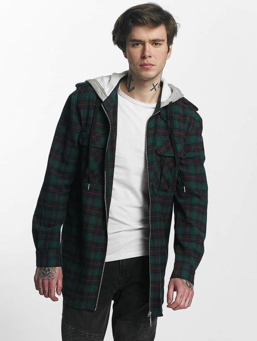 Sixth June Camisa Classic Flannel verde