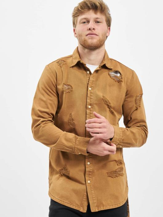 Destroyed Beige 295313 Sixth Chemise June Desert Homme HYW29IED