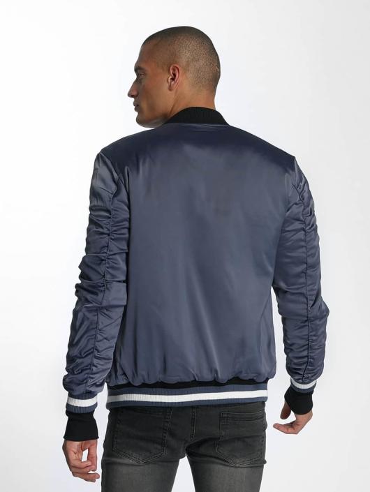 Sixth June College Jacket Satin blue