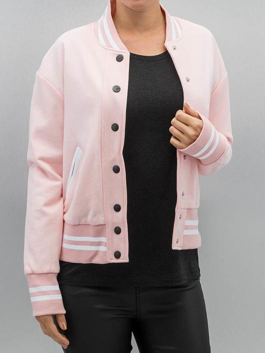Sixth June College Jacket Parisiennes Teddy rose