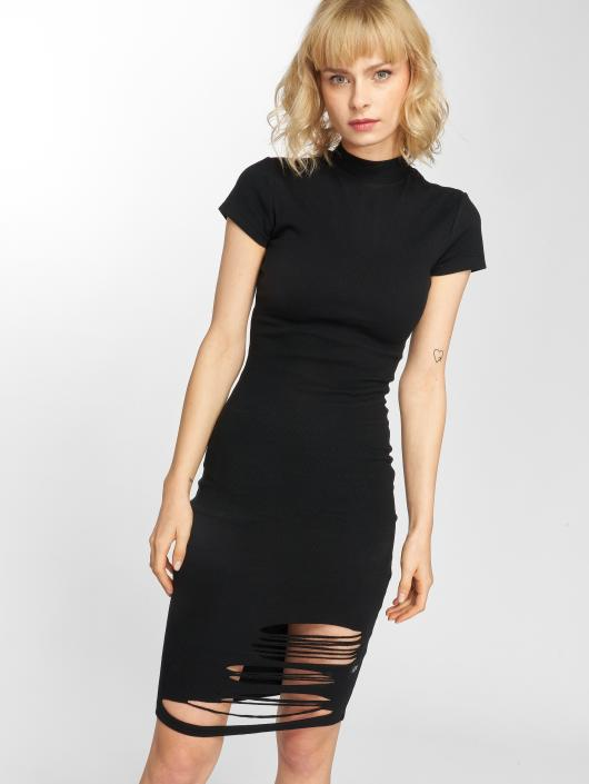 Sixth June Dress Destroyed Mid-Length black