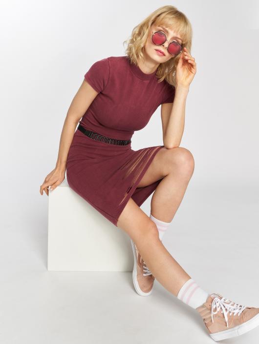 Sixth June Dress Destroyed Mid-Length purple