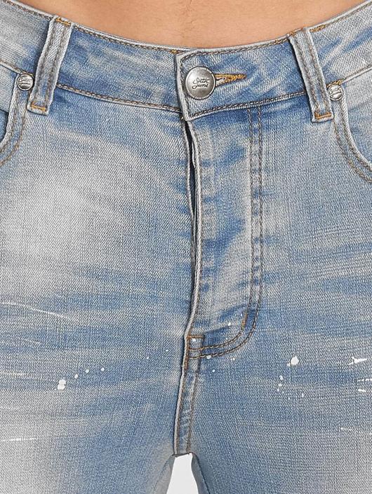 Sixth June dżinsy przylegające Slim niebieski