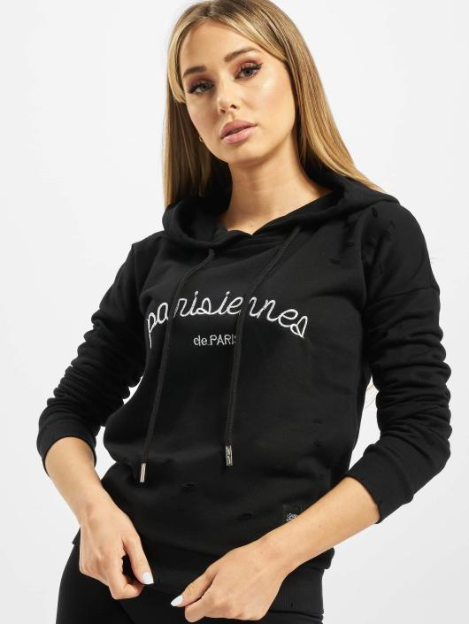 Sixth June Hoodie Parisiennes black