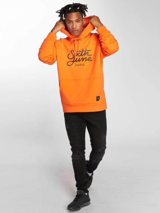 Sixth June Hoodie Classic Oversize orange