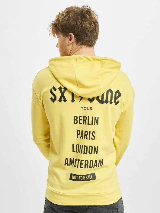 Sixth June Hoody Crew gelb
