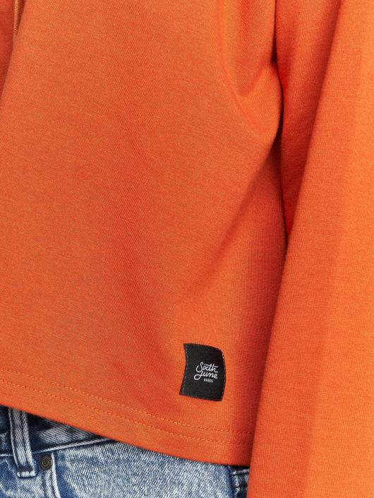 Sixth June Hoody Ultra Oversized oranje