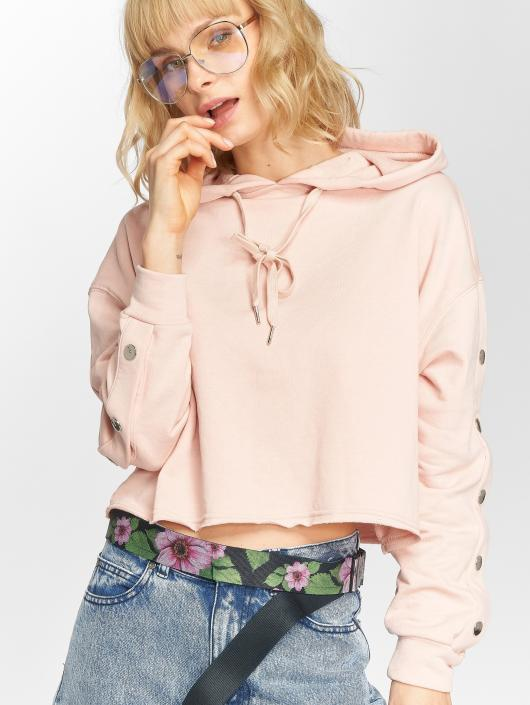 Sixth June Hoody Button rosa