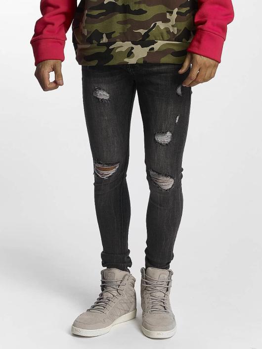 Sixth June Jeans ajustado Classic gris
