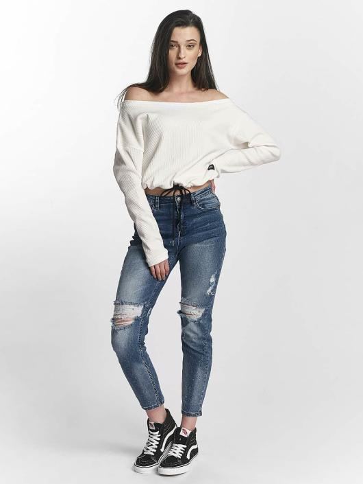 Sixth June Jersey Oversize Cold Shoulder blanco