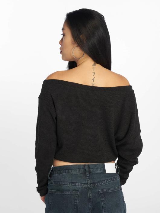 Sixth June Jersey Oversize Cold Shoulder negro