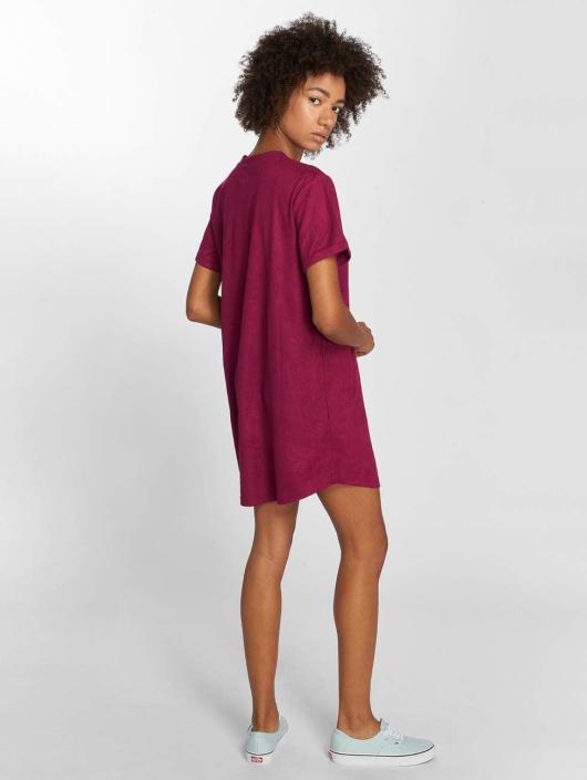 Sixth June Kleid Velours violet