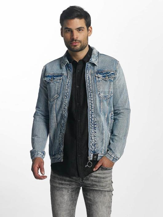 Sixth June Lightweight Jacket Denim Oversized blue