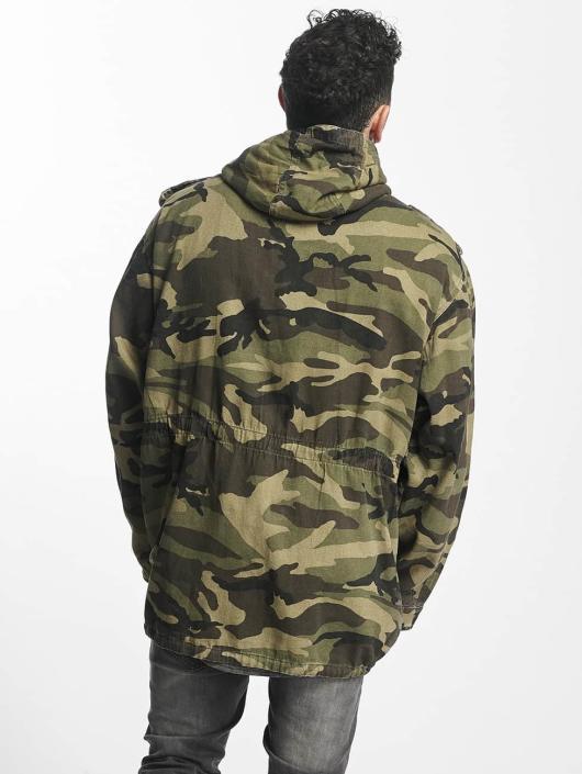 sixth june light parka camouflage homme manteau 394546. Black Bedroom Furniture Sets. Home Design Ideas