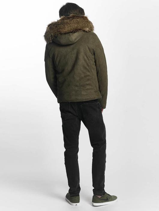 Sixth June Manteau hiver Puffa Perfecto kaki