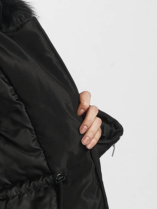 Sixth June Manteau hiver Winter Fur noir