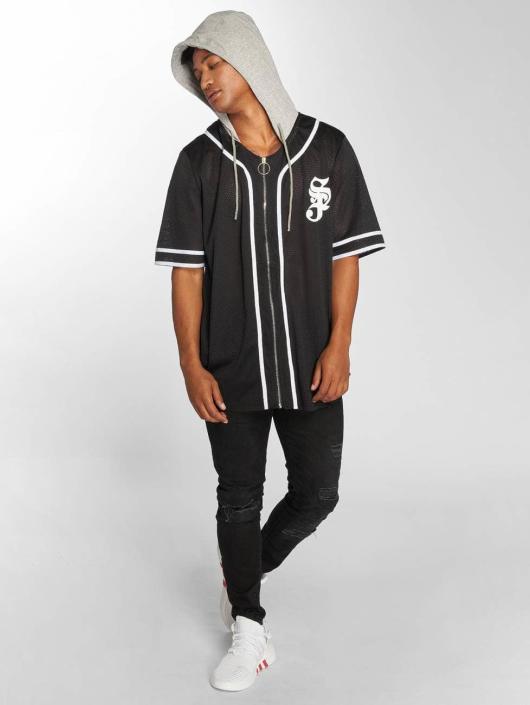 Sixth June overhemd Baseball zwart