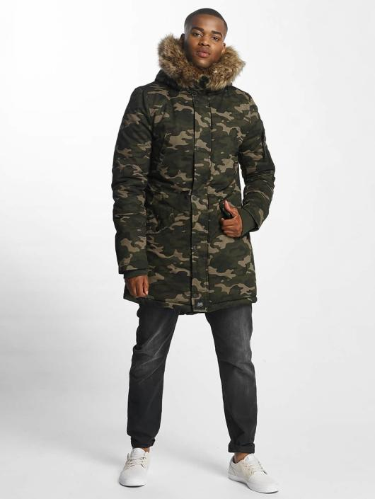 Sixth June Parka Fur camouflage